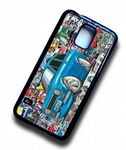 Koolart STICKERBOMB STYLE Design For Retro MK1 Ford Escort Mexico Hard Case Cover Fits Samsung Galaxy S5